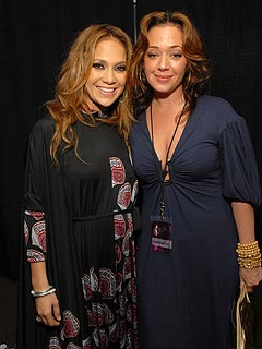Leah Remini J Lo S Sister Visit The Hospital Celebrity