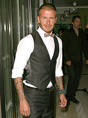 David Beckham  Wear Carolina Herrera
