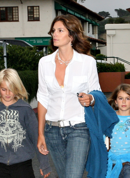 cindy crawford baby clothes. Cindy Crawford amp; Family In