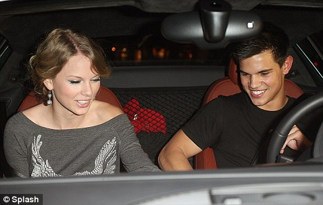 Twilight star Taylor Lautner and country singer Taylor Swift it looks like