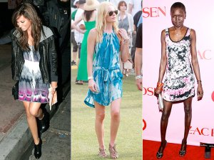 Ashley Tisdale, Kate Bosworth and model Alek Wek